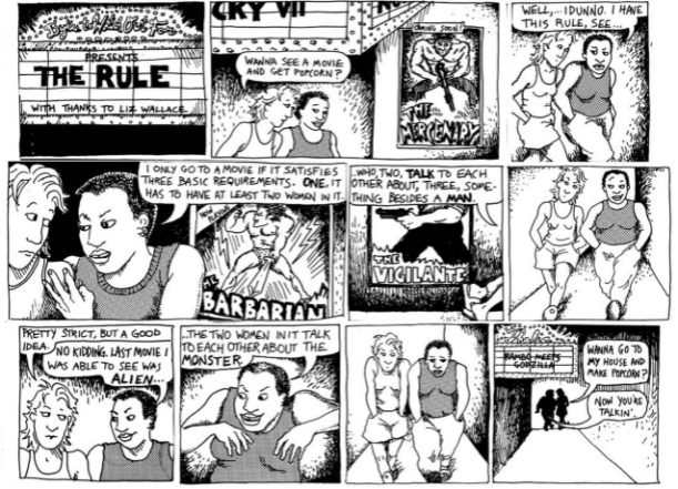 alison bechdel, dykes to watch out for